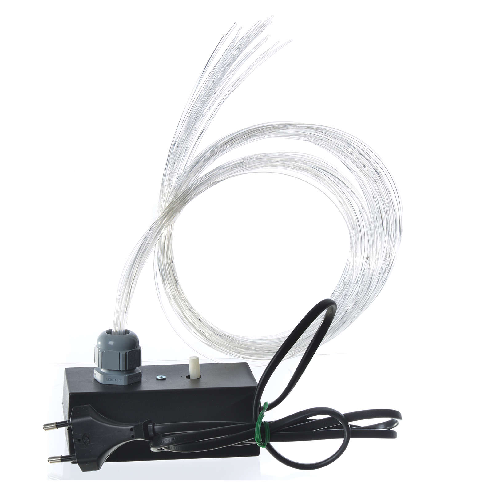 Optical fibre 1 m for nativity scene, led lightning with fade and flickering effects 4