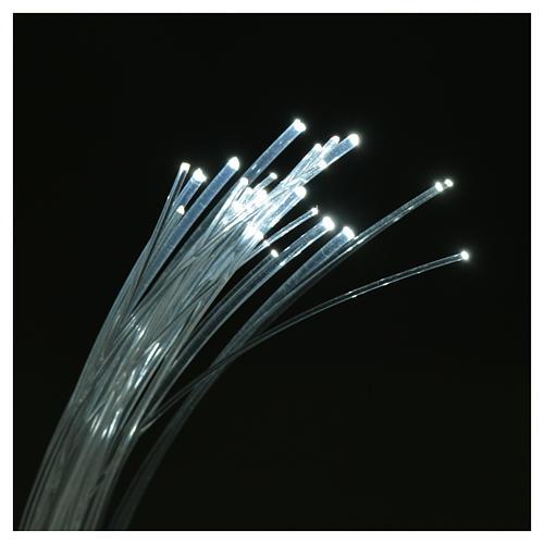 Fibra óptica 1 m belén iluminador led fundido parpadeo 3