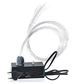 Fibra ottica 1m presepe illuminatore led dissolvenza tremolio s2