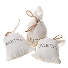 Bag of flour for nativities, 3pcs 7x3.5cm s1