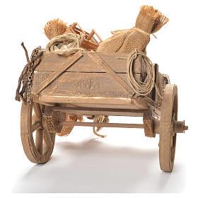 Cart with fruit, Neapolitan Nativity 24cm s3