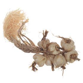 Tresse d'ail en cire crèche 20-24 cm s2