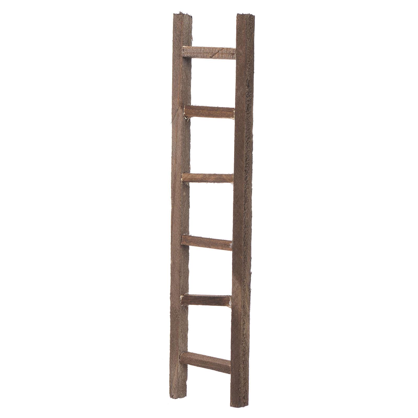 Escalera madera belén 22x4,5 cm 4