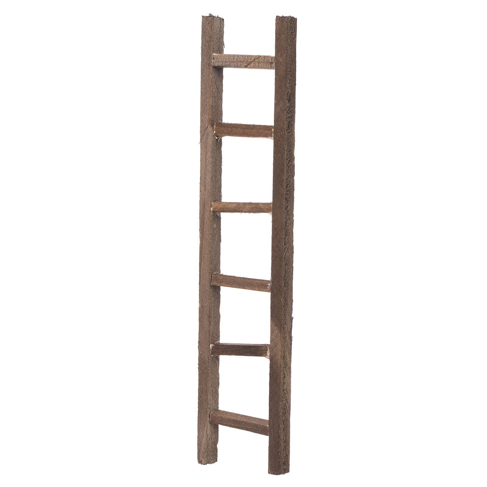 Wooden ladder, nativity accessory 22x4.5cm 4