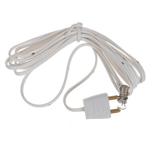 Lampe avec lumière 3,5V et câble de 150cm 2