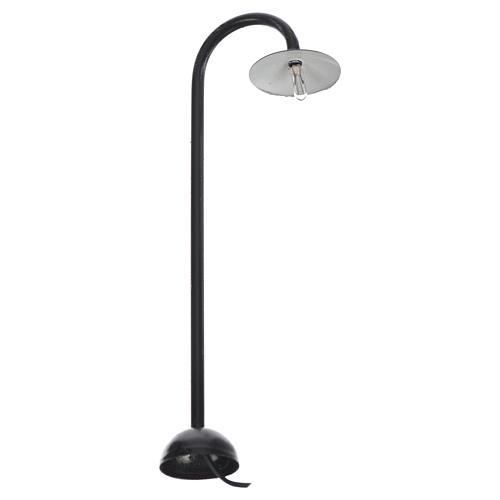 Lampione di campagna a terra cm 13x4,5 cm con lampada 12v 1