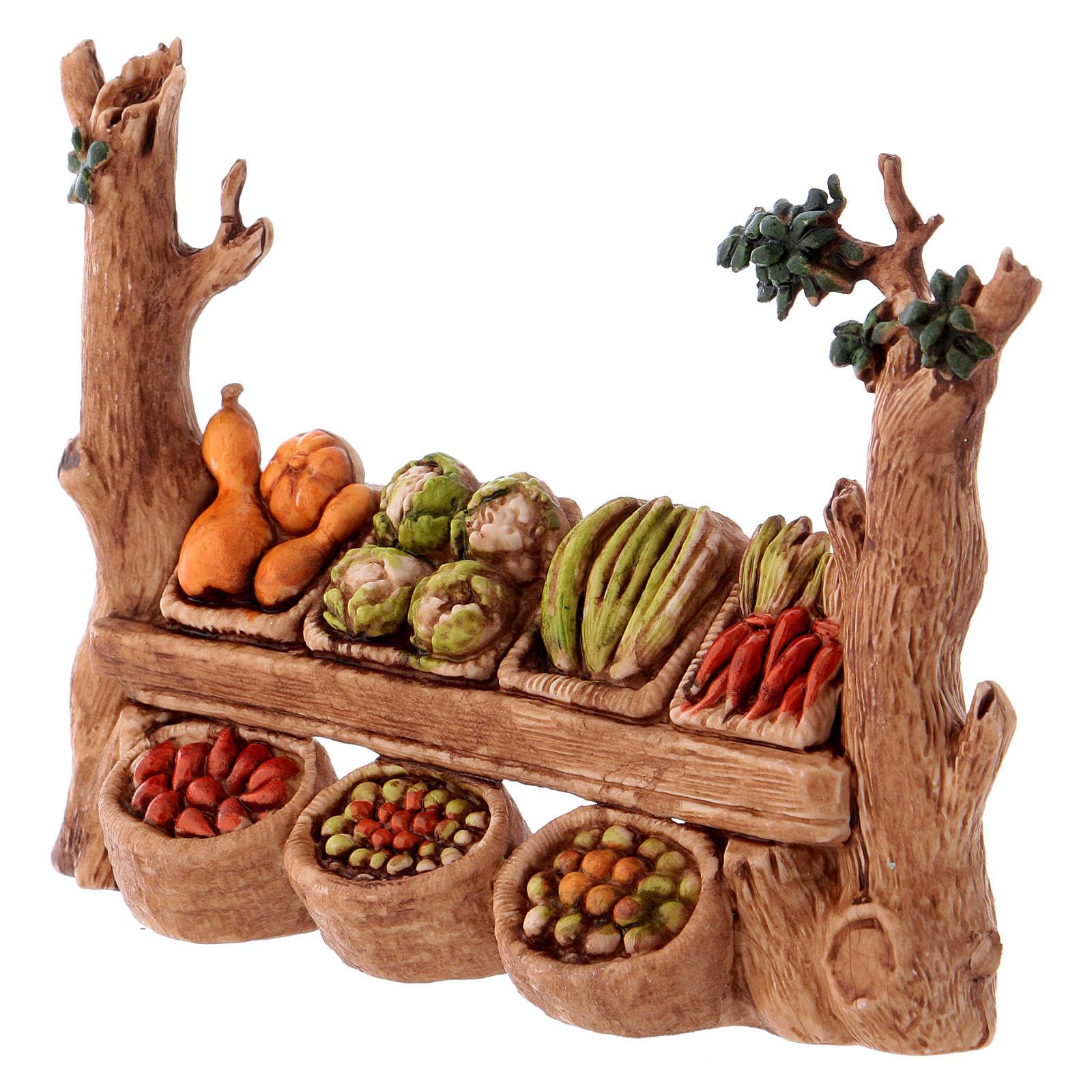 Stall, Moranduzzo Nativity scene 6cm 4