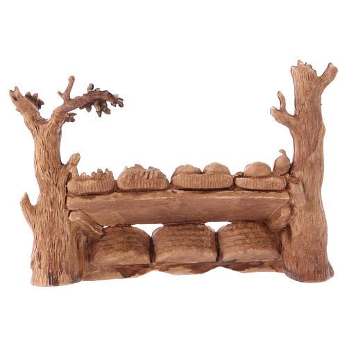 Stall, Moranduzzo Nativity scene 6cm 3