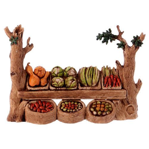 Stall, Moranduzzo Nativity scene 6cm 1