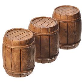 Barrels 3 pieces, Moranduzzo Nativity scene 10cm s2