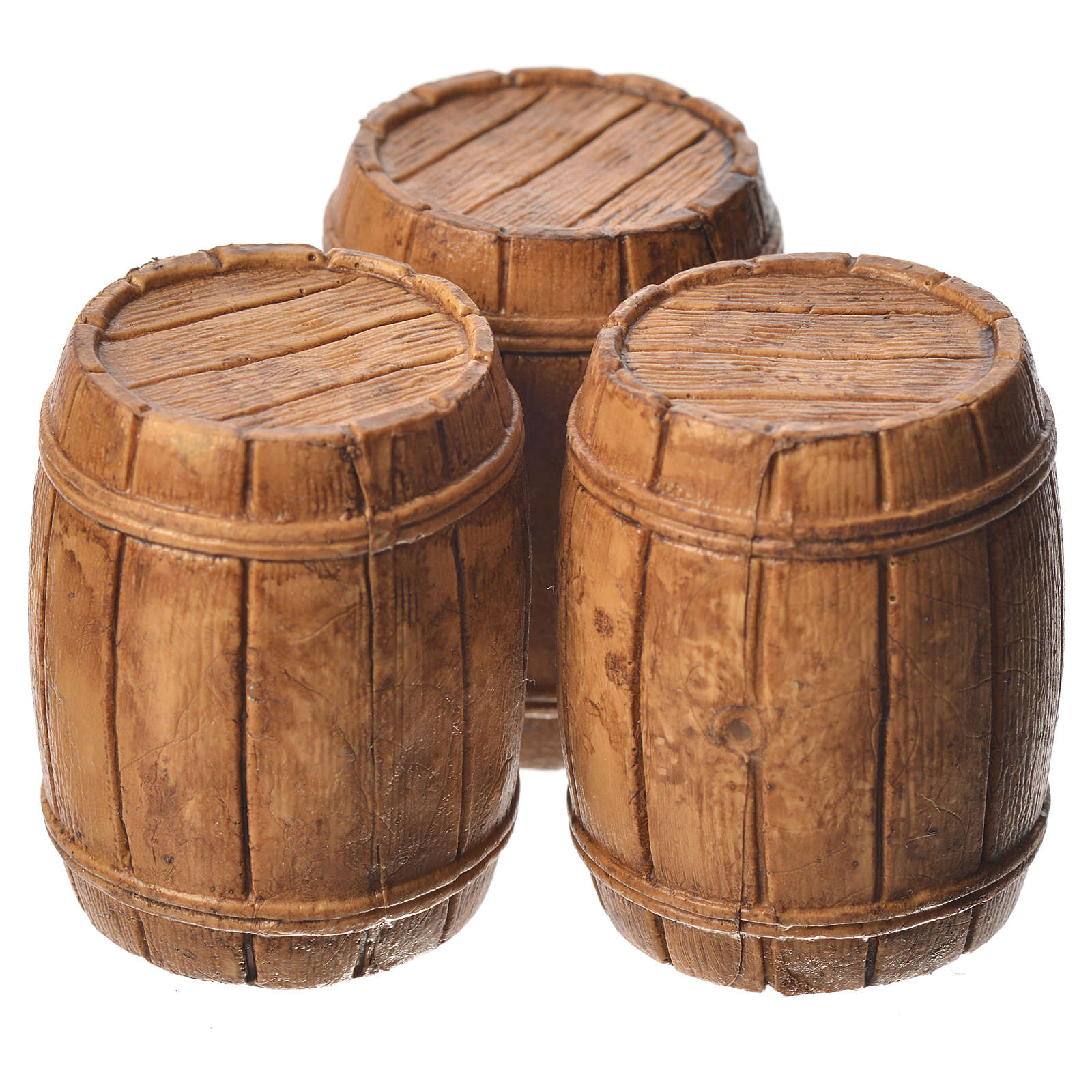 Barrels 3 pieces, Moranduzzo Nativity scene 10cm 4