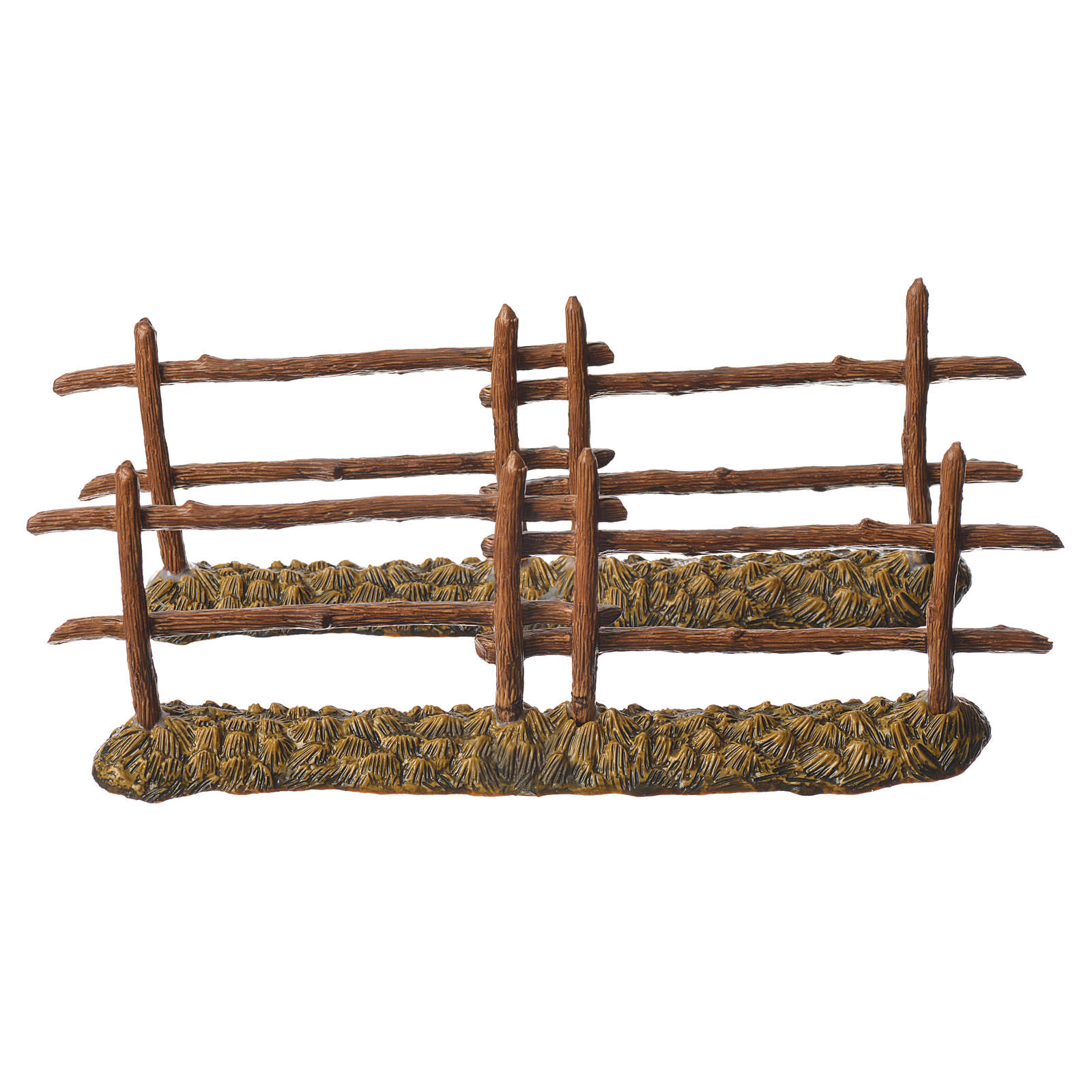 Nativity setting, 2 fences 21x7cm Moranduzzo 4