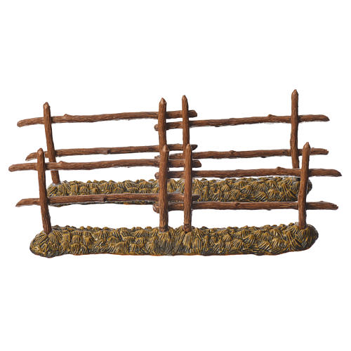 Nativity setting, 2 fences 21x7cm Moranduzzo 1