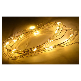 Nano led warm white 15 leds 3m for nativity scene s2