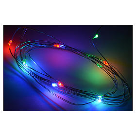 Micro led multicolore 10 leds 2m crèche s2