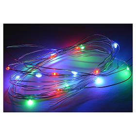 15 Mini Luces LED multicolor 3 m belén s2