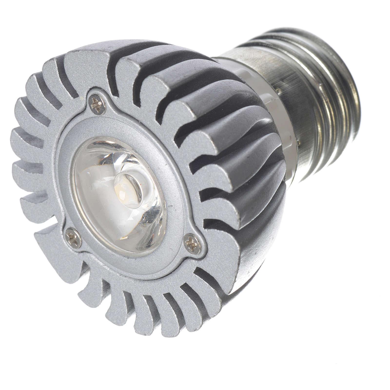 LED spot light 10 degrees 1W, warm light for nativities 4