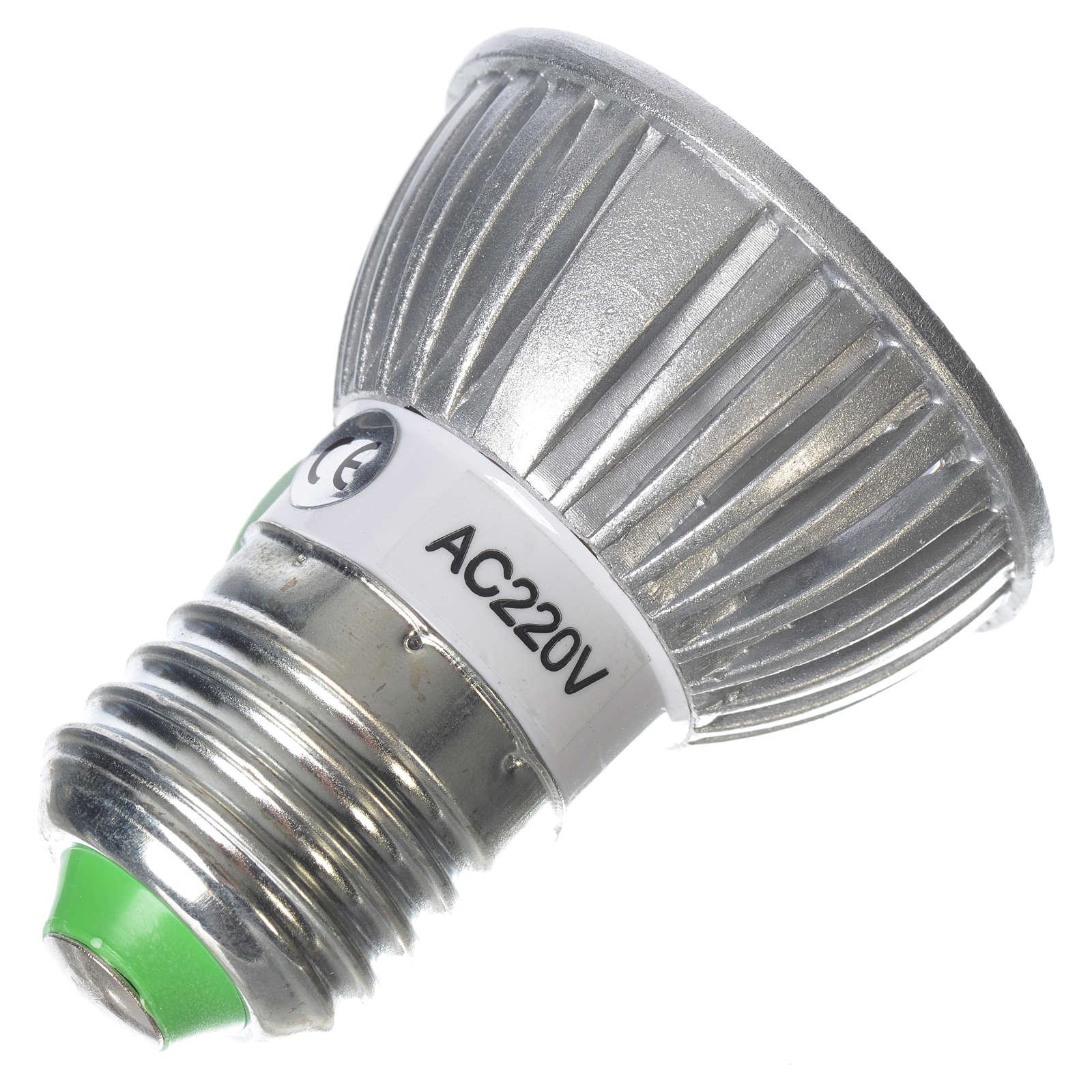 LED spot light 30 degrees 1W, warm light for nativities 4