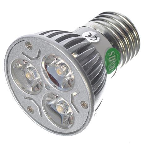 LED spot light 30 degrees 1W, warm light for nativities 1