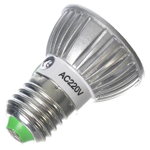 LED spot light 30 degrees 1W, warm light for nativities 2