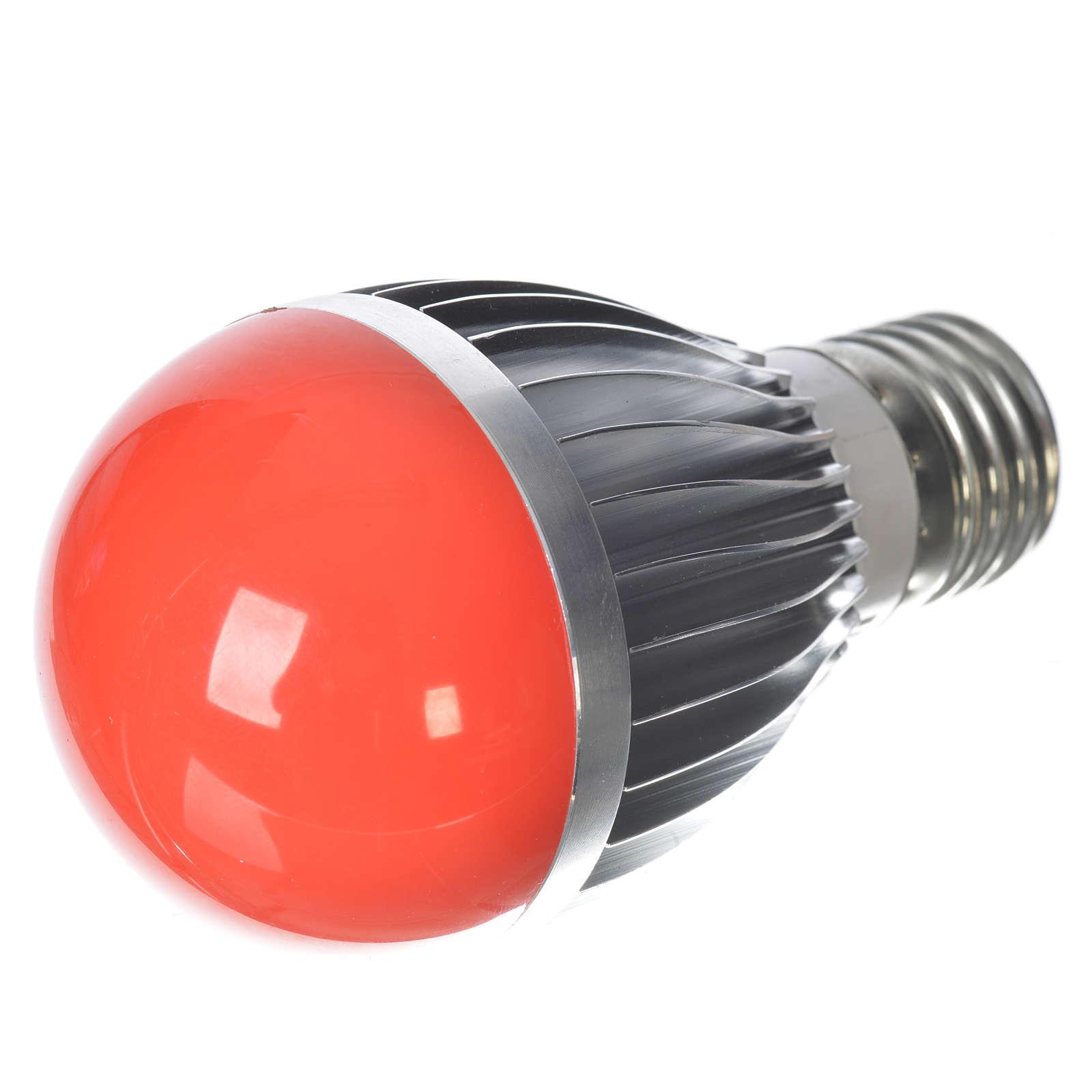 Lampada a led 5W dimmerabile rossa presepe 4