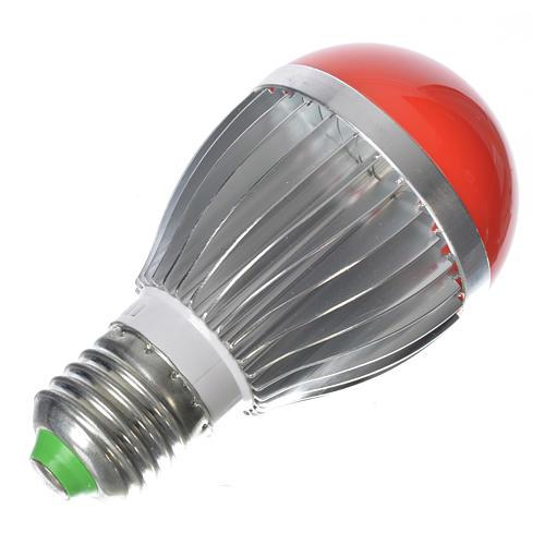 Lampada a led 5W dimmerabile rossa presepe 3