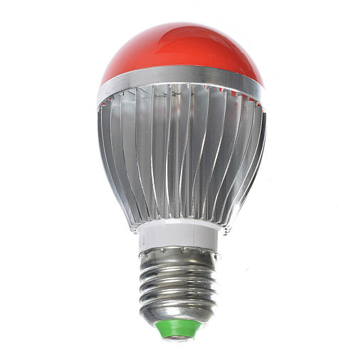 LED dimmerable, red light, 5W for nativities 1