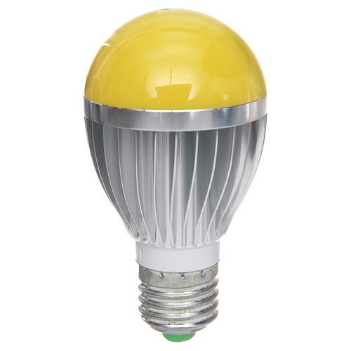 Lampada a led 5W dimmerabile gialla presepe 1