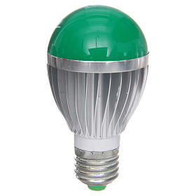 LED dimmerable, green light, 5W for nativities s1