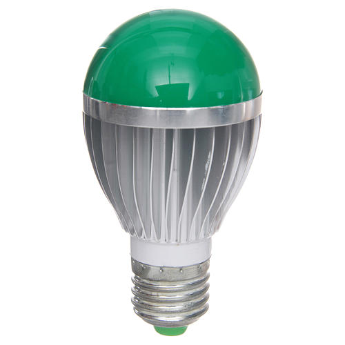 LED dimmerable, green light, 5W for nativities 1