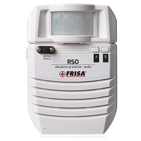 Audio presence detector optical plug s1