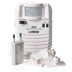 Audio presence detector optical plug s4