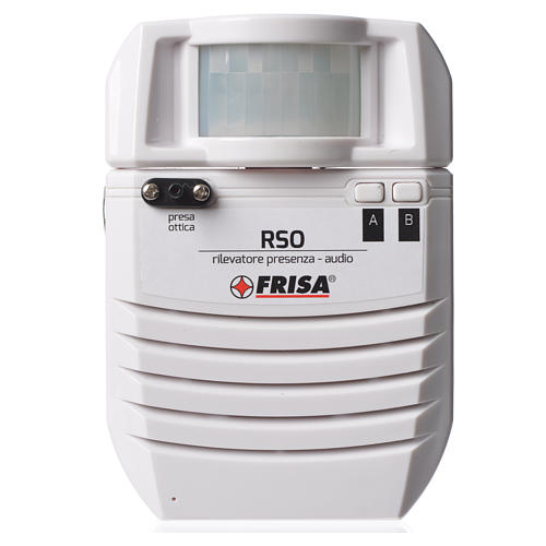 Audio presence detector optical plug 1