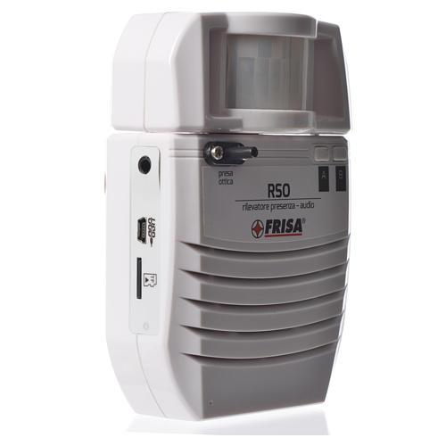 Audio presence detector optical plug 2