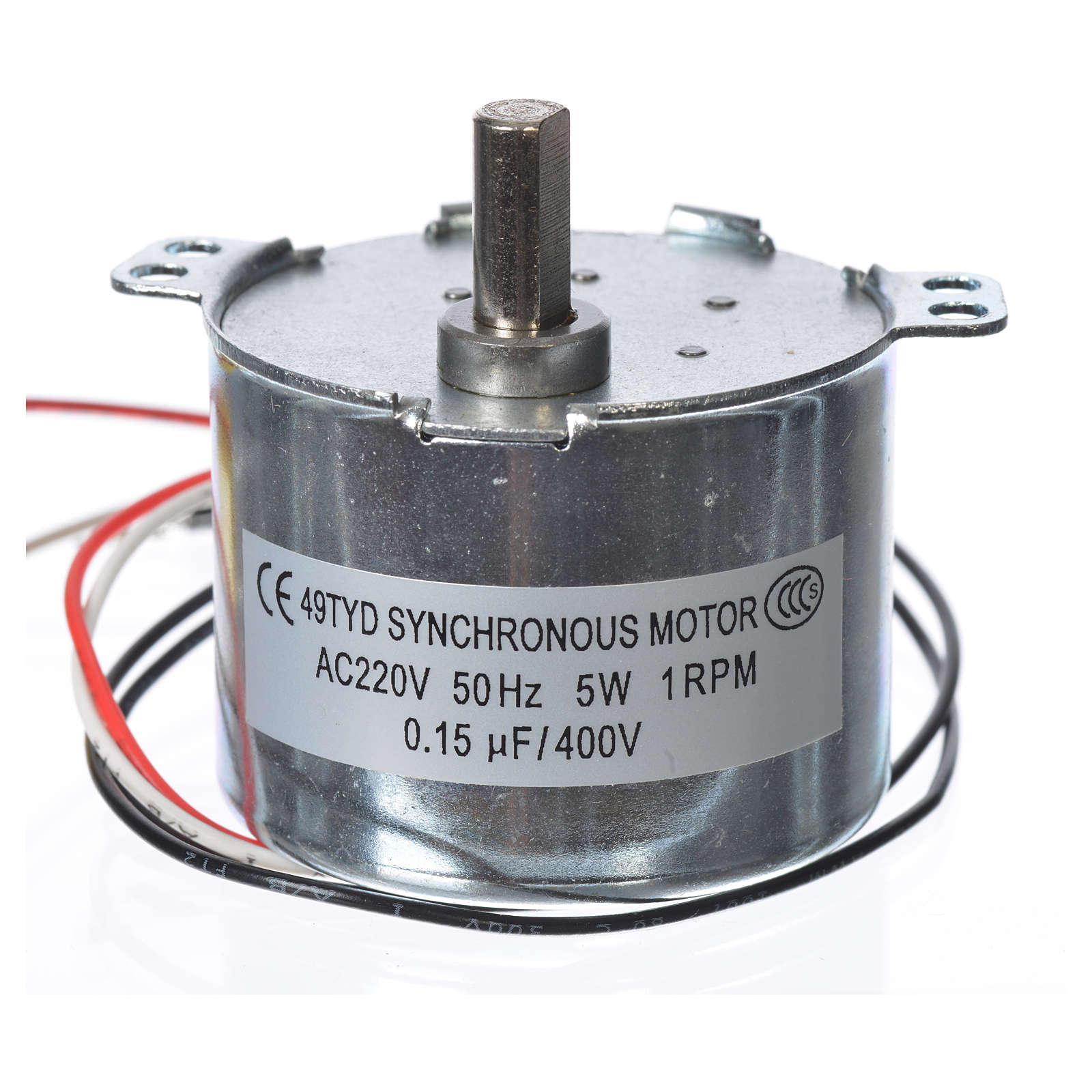 Motor reductor for nativities MV 1spin/minute 4