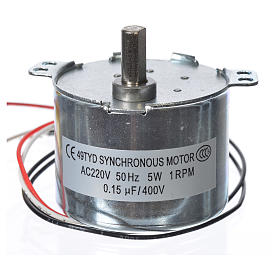 Motor reductor for nativities MV 1spin/minute s2
