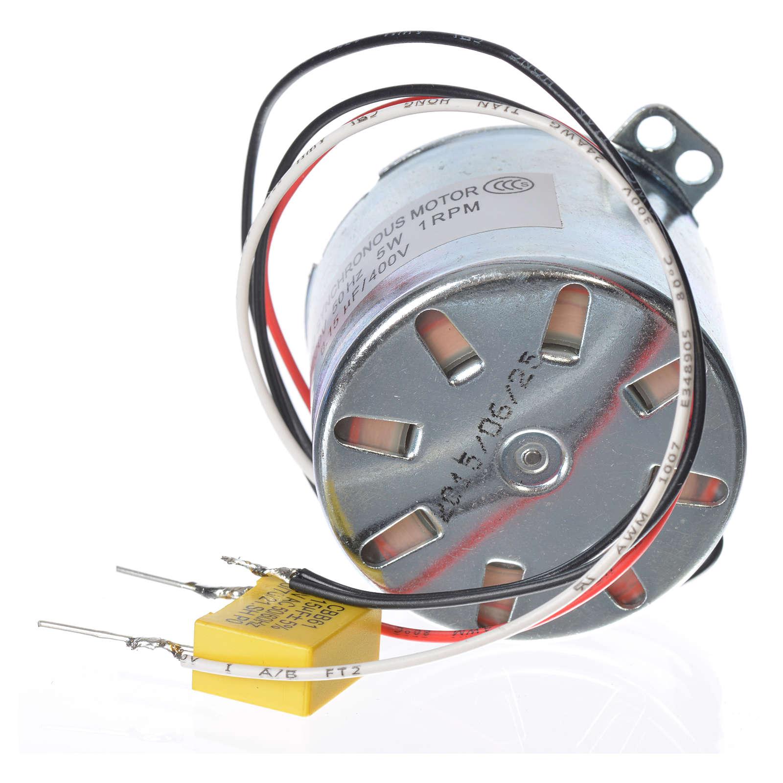 Motoriduttore MV 1 giro/min presepe 4