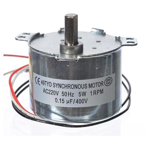 Motoriduttore MV 1 giro/min presepe 2