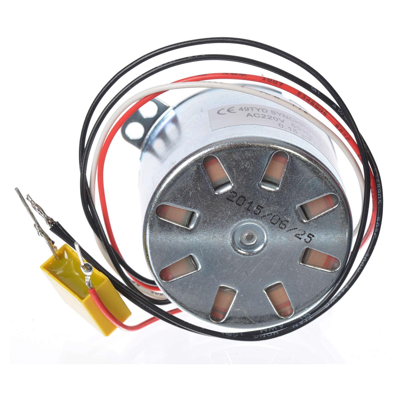 Motoriduttore MV 2,5 giri/min presepe 4