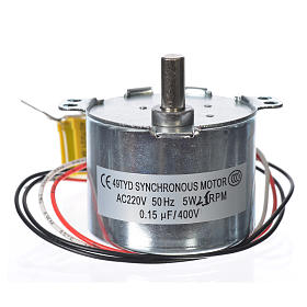 Motor reductor for nativities MV 2.5spin/minute s2