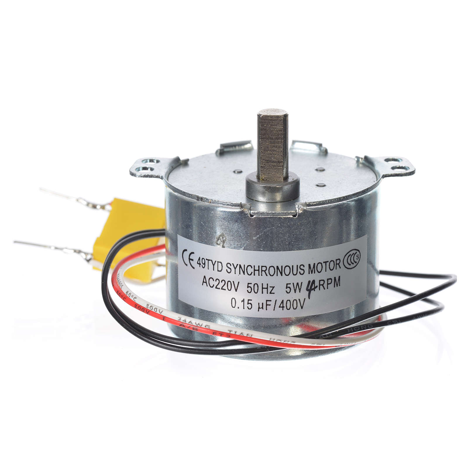 Motor reductor for nativities MV 4spin/minute 4