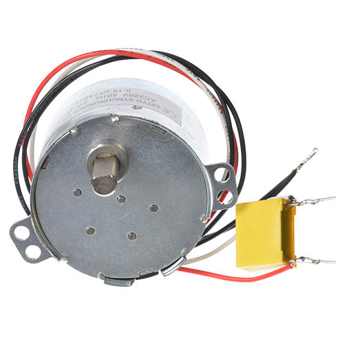 Motor reductor for nativities MV 4spin/minute 1
