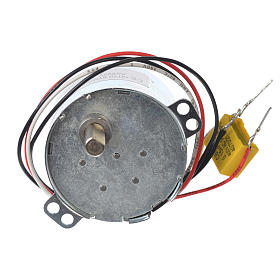 Motor reductor for nativities MV 10spin/minute s1
