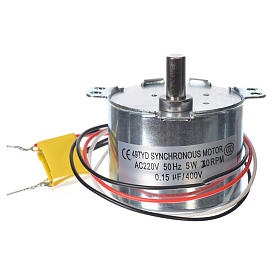 Motor reductor for nativities MV 20spin/minute s2