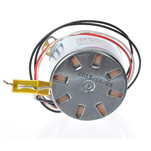 Motor reductor for nativities MV 20spin/minute 3