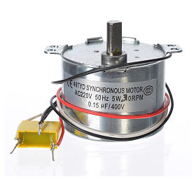 Motor reductor for nativities MV 30spin/minute s2