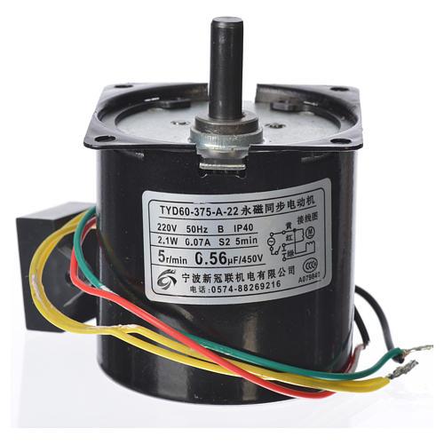 Motoriduttore MPW 5 giri/min presepe 2