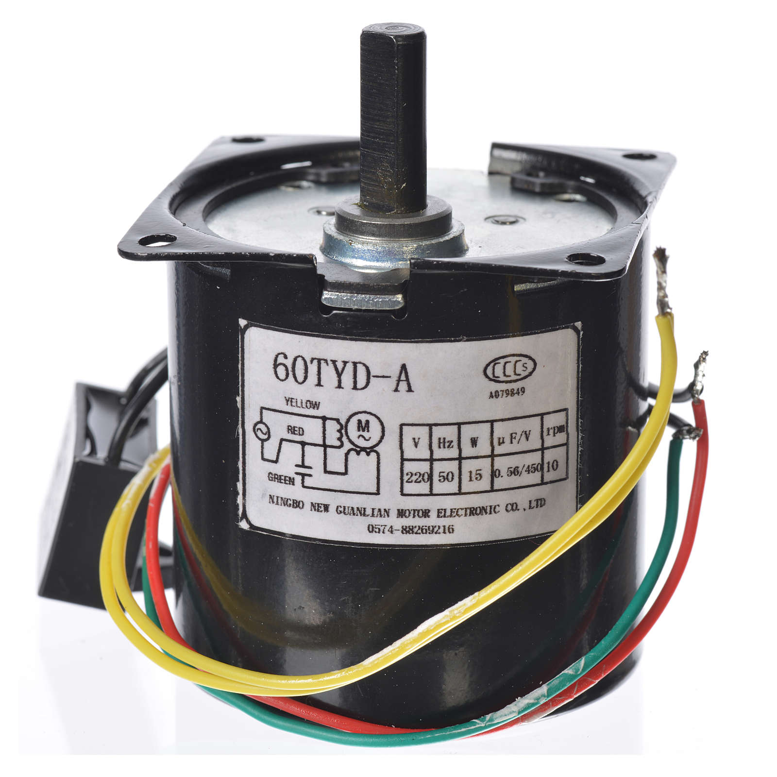 Motorreductor MPW 10 giros/min belén 4