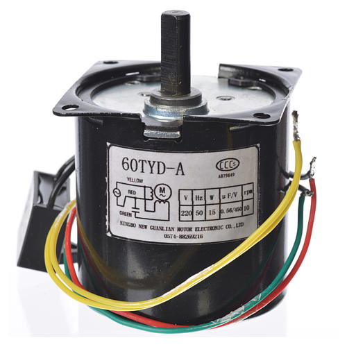 Motoriduttore MPW 10 giri/min presepe 2