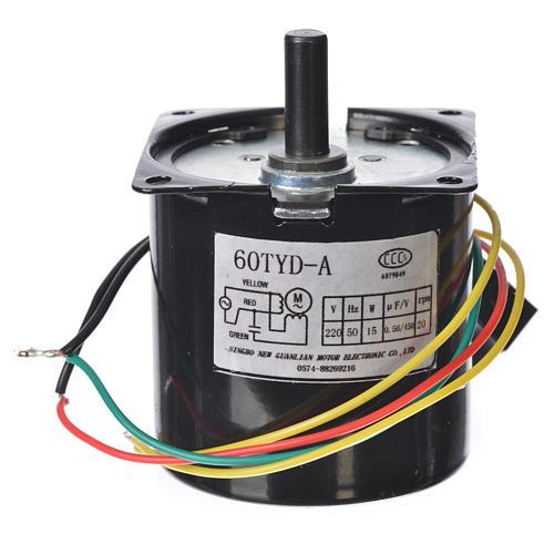 Motoriduttore MPW 20 giri/min presepe 2